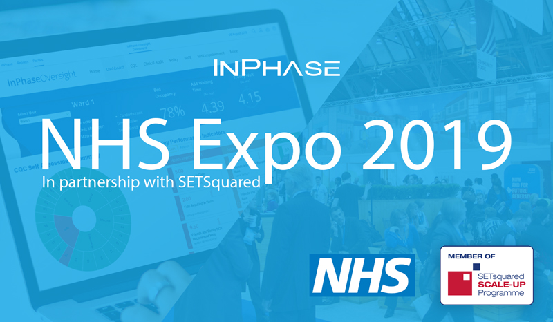 InPhase with SETsquared at NHS Expo 2019