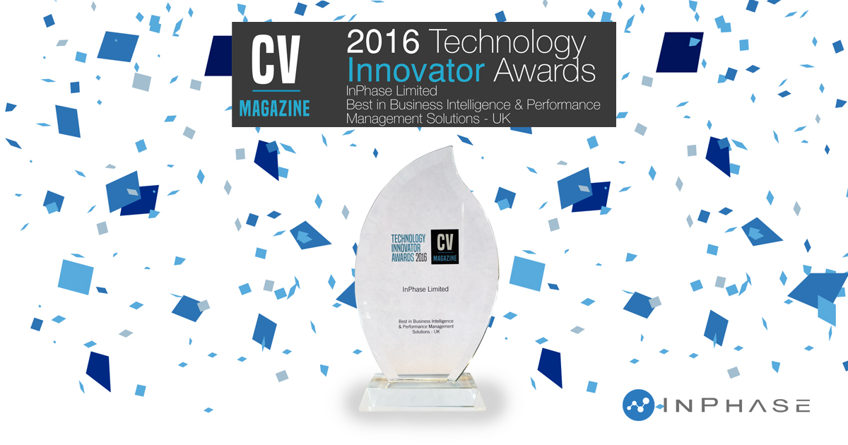 InPhase Wins Technology Innovator Award!