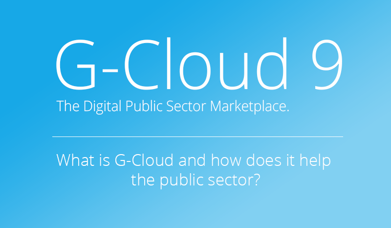 G-Cloud 9 is now available... but what is it?